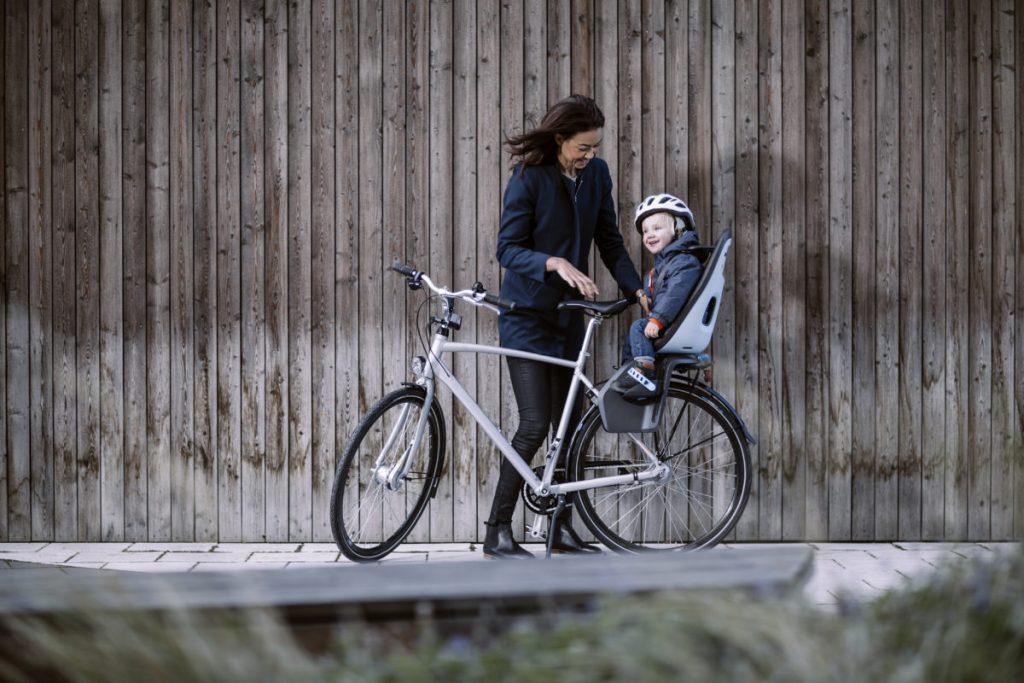 Porte bébé vélo - image